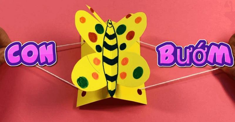 Đồ handmade bằng giấy cho trẻ em